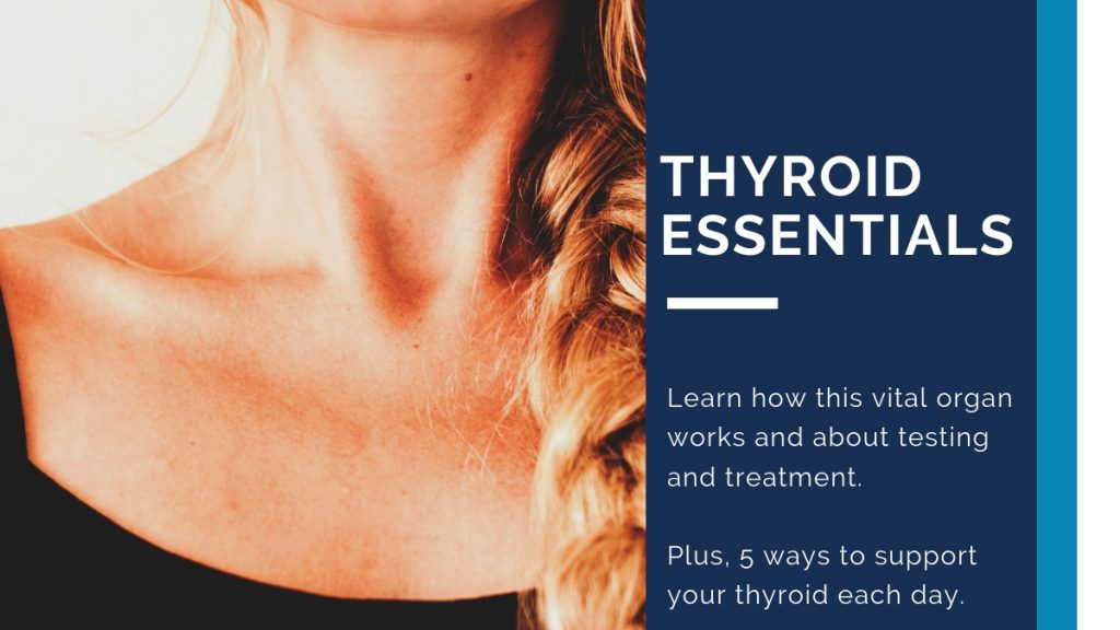Thyroid Essentials How this vital organ works, testing, treatment and 5 ways to support your thyroid naturally today.