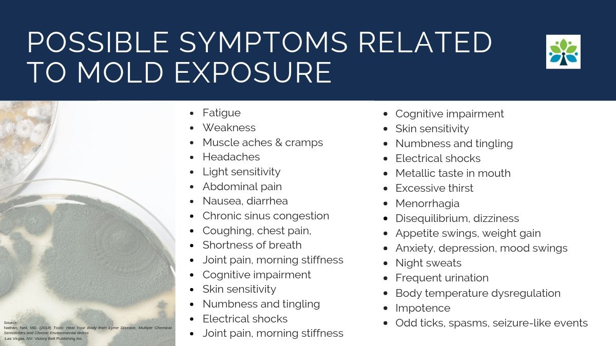 Mold Symptoms May Include Any of These
