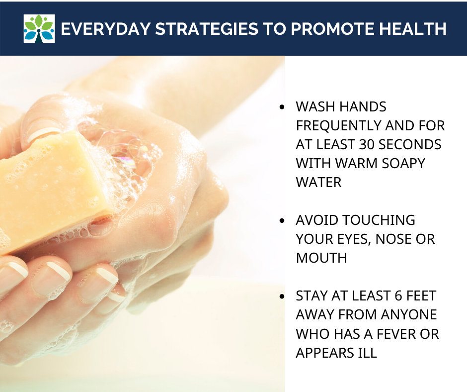 Coronavirus Hand Washing and Everyday Strategies to Promote Health (2)