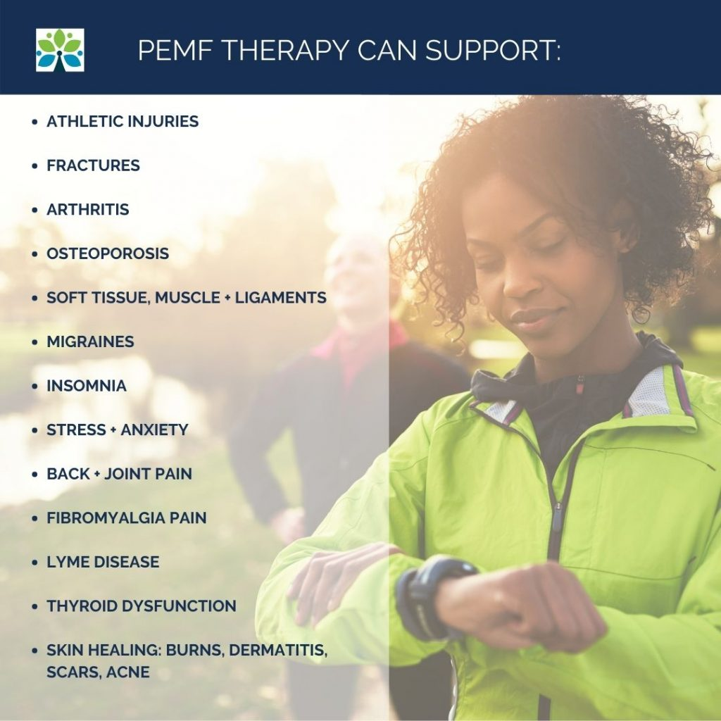 Functional Medicine Saint Louis, PEMF therapy can support