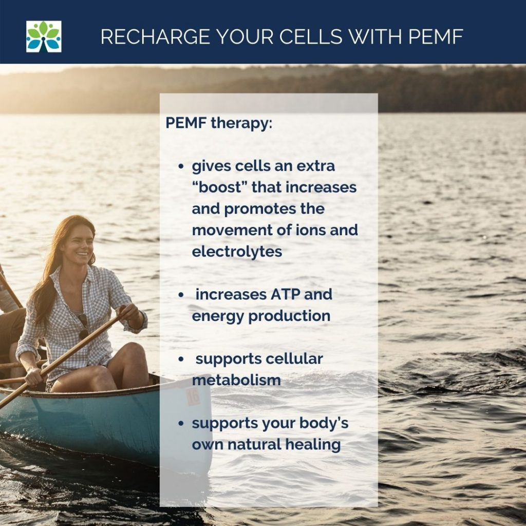 Recharge cells with PEMF Saint Louis Functional Medicine